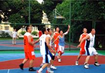 籃球比賽增進友誼